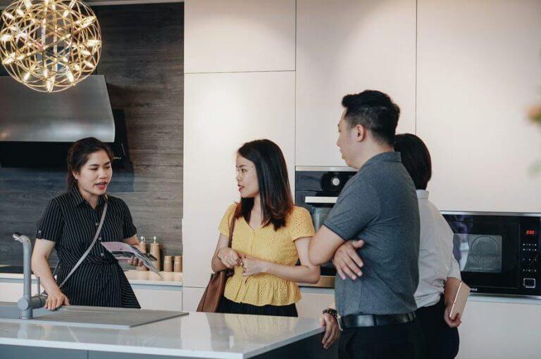Đặc biệt, đông đảo Kiến trúc sư đã trải nghiệm sản phẩm Flexfit tại gian hàng và có được nhiều gợi ý thú vị.