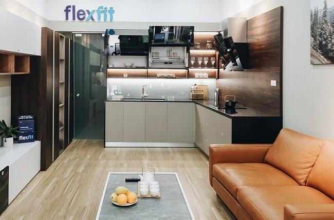 Flexfit được khách hàng biết đến với những sản phẩm tủ bếp gỗ công nghiệp độc đáo, chất lượng cao