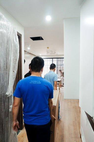 Sản phẩm được Flexfit vận chuyển và lắp đặt tận nhà
