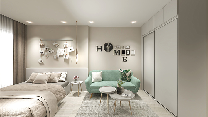 Giường ngủ phong cách hiện đại đang rất được nhiều khách hàng ưa chuộng.