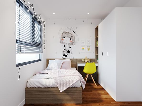 Sản phẩm giường gắn tủ được sử dụng giúp tạo nên một góc nhỏ sinh hoạt tiện nghi.