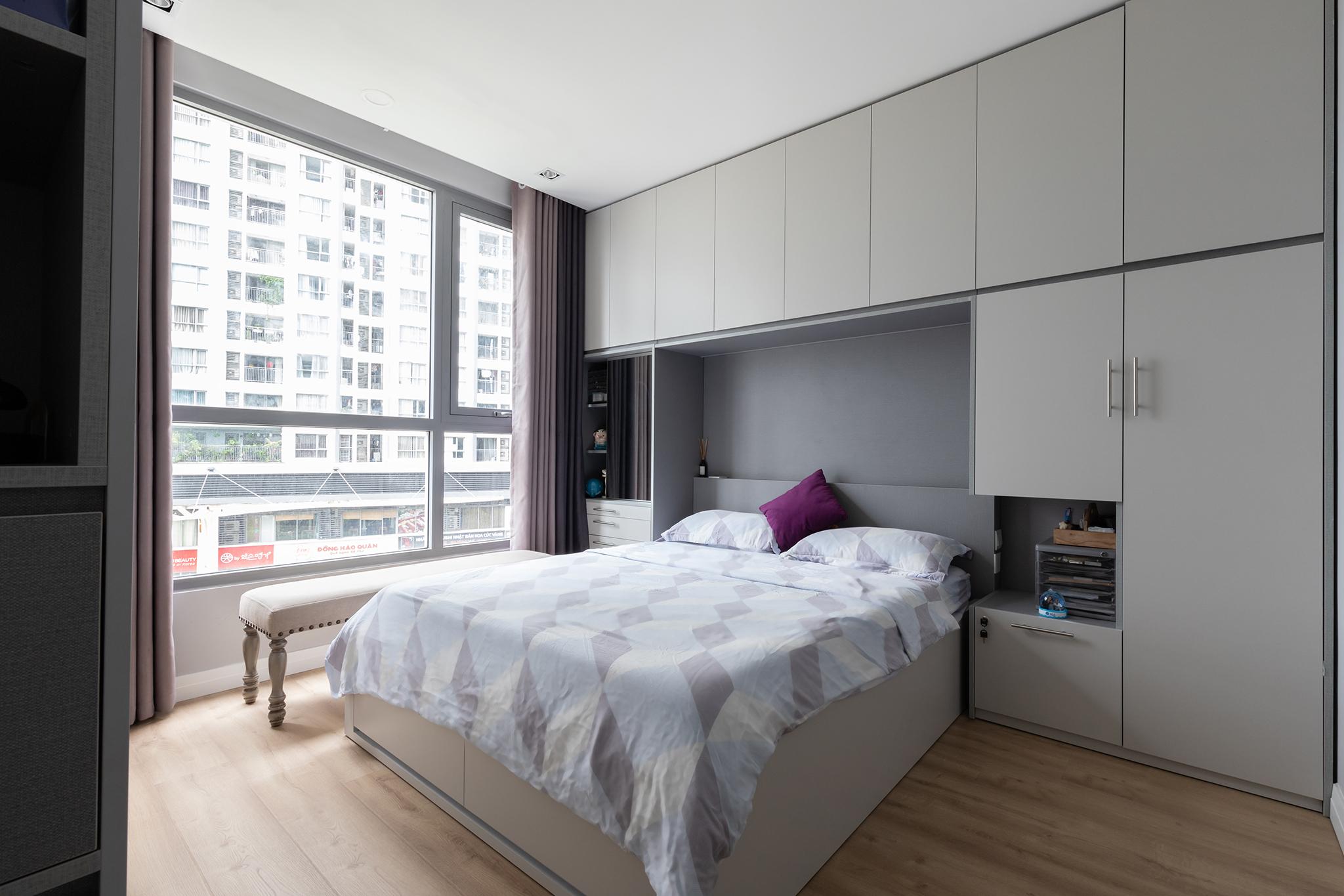 Tủ quần áo đẹp góp phần mang đến sự sang trọng, hiện đại cho phòng ngủ