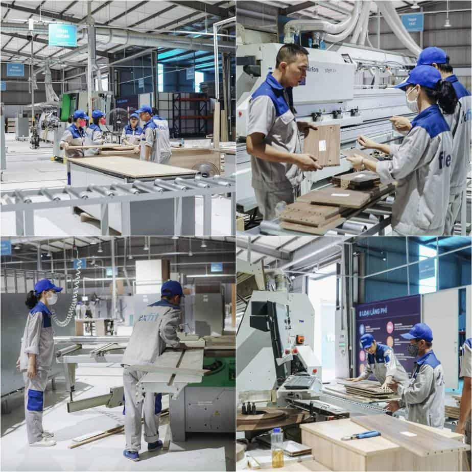 Flexfit sở hữu 3 nhà máy với dây chuyền máy móc hiện đại