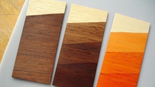 Gỗ công nghiệp phủ sơn trực tiếp có màu sắc đa dạng
