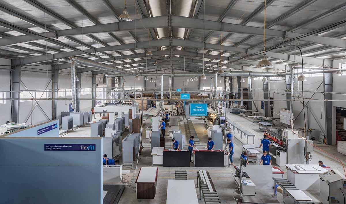 Nhà máy sản xuất của Flexfit