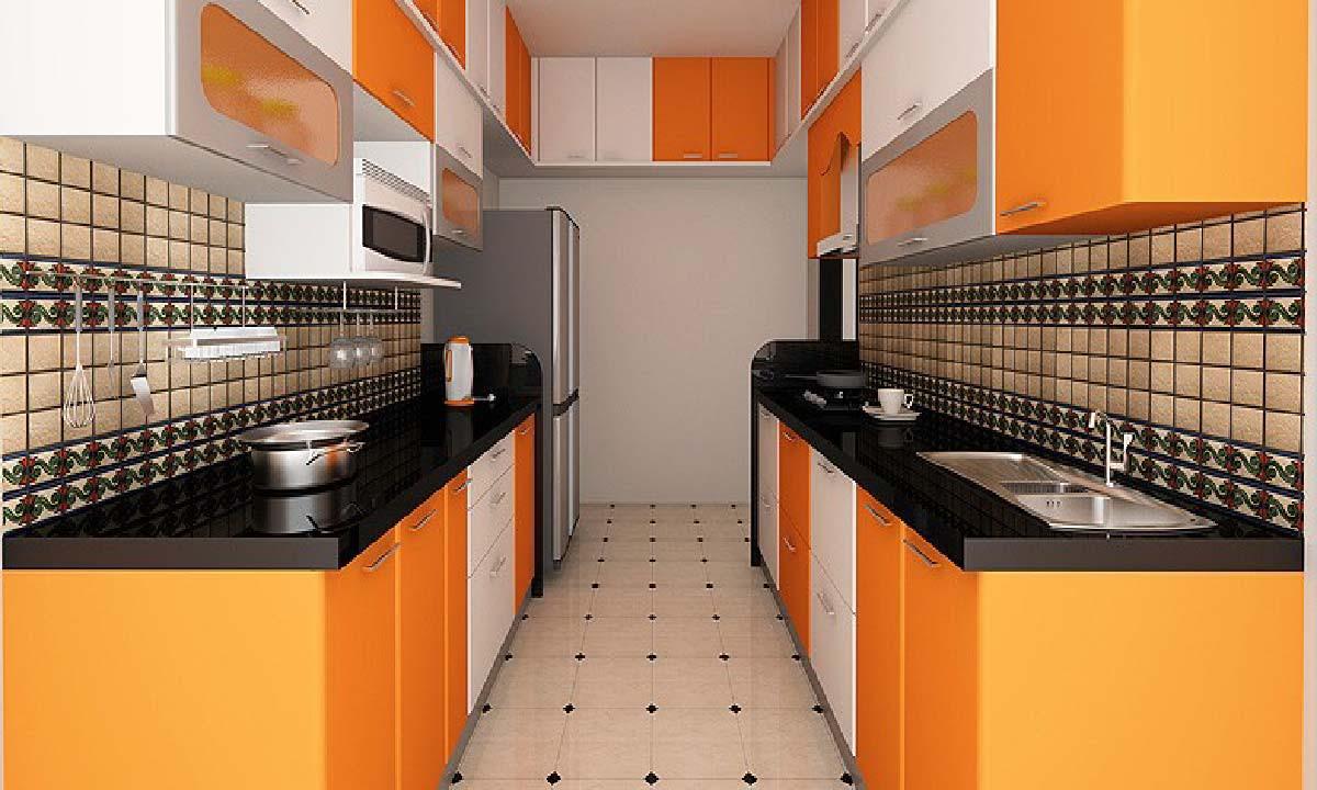 Bạn sẽ luôn muốn về nhà, không ngại vào bếp để nấu những món ăn ngon nhất bởi sự cuốn hút của căn bếp năng động, trẻ trung và tươi mới này. Tủ có sự phối hợp linh hoạt giữa ba tông màu cam – trắng – ghi, cùng thiết kế nhiều ô tủ giúp tăng tính thẩm mỹ và công năng lưu trữ lớn cho gian bếp.