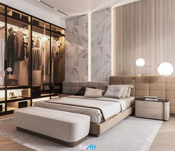 Hệ thống đèn chiếu sáng phù hợp giúp phòng ngủ của bạn sang trọng hơn