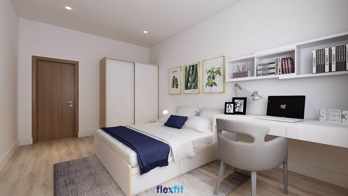 Giường đa năng sẽ giúp bạn có thể cất giữ thêm quần áo, sách vở, tiết kiệm không gian một cách tối ưu nhất