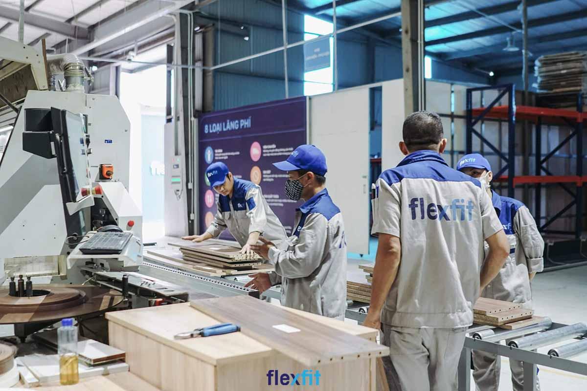 Flexfit sở hữu 2 nhà máy quy mô lớn