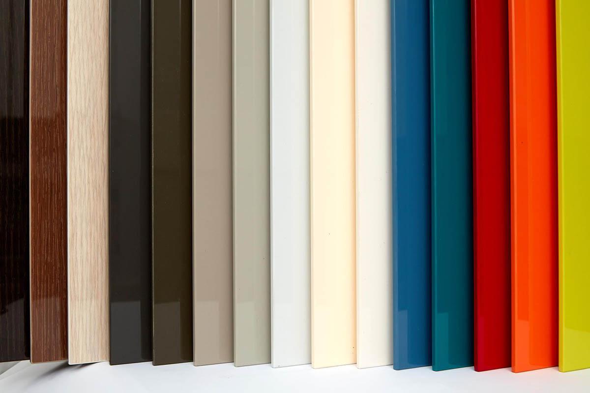 Màu sắc gỗ Acrylic phong phú từ màu trơn, vân gỗ, giả đá
