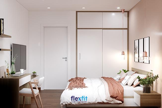 Hiện đại - Trang nhã - Sang trọng là vẻ đẹp nổi bật mẫu tủ quần áo 2 cánh 2 buồng này mang đến cho căn phòng. Chỉ cần khéo léo kết hợp với những đồ nội thất khác là bạn đã có một không gian hoàn hảo.