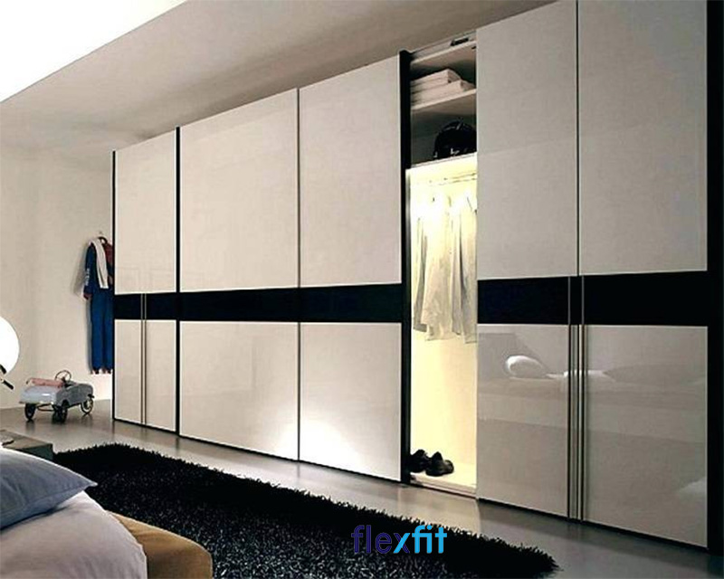 Mẫu tủ quần áo MDF cửa lùa đẹp mãn nhãn
