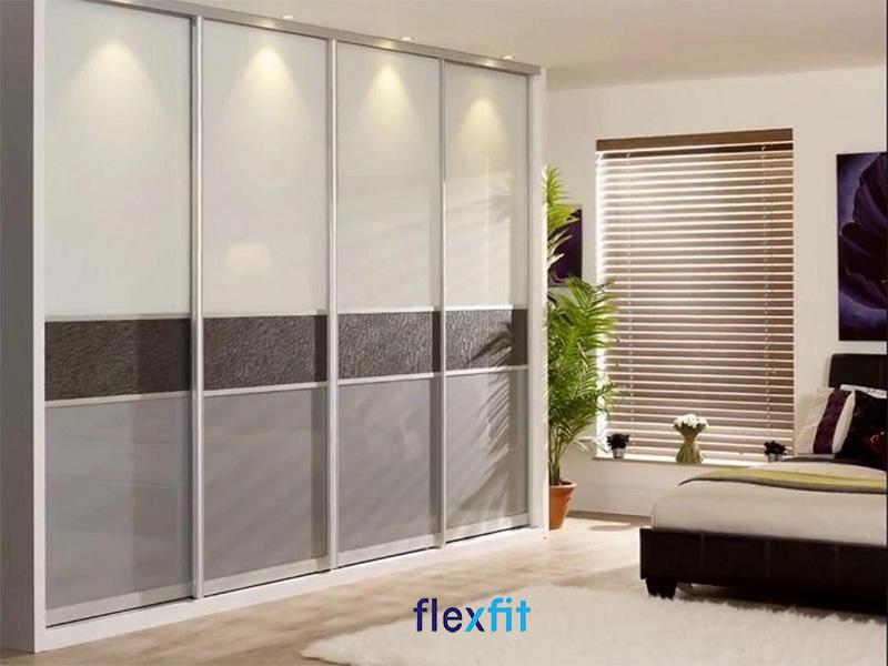 Tủ quần áo MDF 1m8 cho phòng rộng