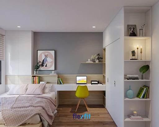 Gỗ MDF có màu sắc và bề mặt phủ phong phú đáp ứng mọi nhu cầu của khách hàng