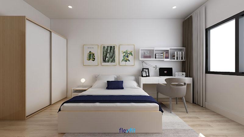 Giường 2m có thiết kế ngăn kéo tăng khả năng lưu trữ. Được làm từ lõi gỗ MDF chống ẩm phủ Laminate giúp mẫu giường ngủ này có độ bền màu cao, dễ dàng vệ sinh nên trông luôn như mới.