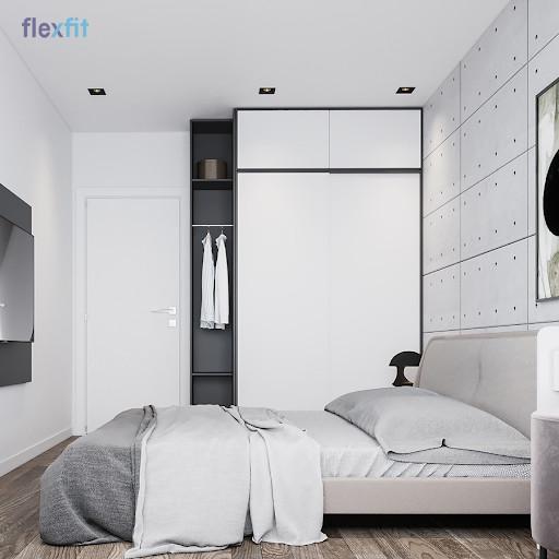 Kích thước tiêu chuẩn giường đôi dành cho người lớn là 1m6 x 2m, chiều cao tùy ý