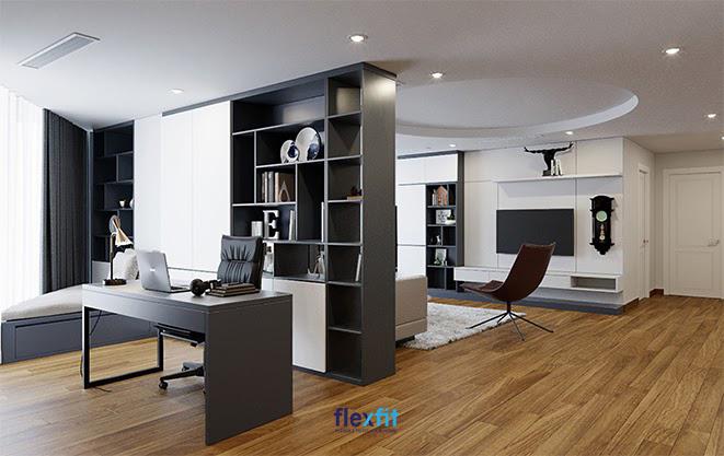 Bàn làm việc chữ U màu đen uy quyền 1m6 rất phù hợp với không gian làm việc cá nhân tại nhà hay văn phòng công ty dành cho cấp quản lý, lãnh đạo. Với thiết kế tối giản, mẫu bàn này còn dễ dàng phối hợp cùng những phong cách khác nhau.