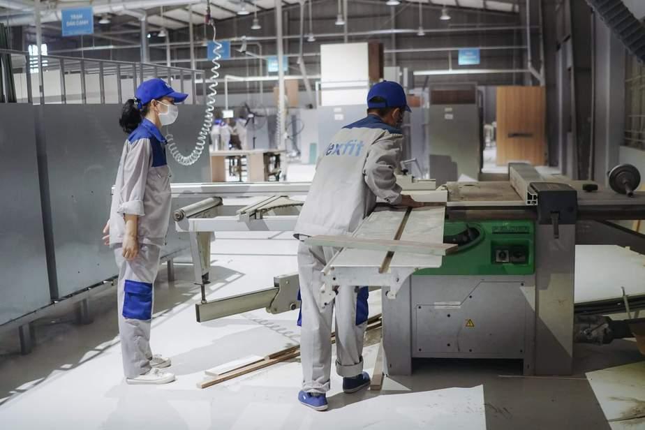 Quy trình sản xuất hiện đại của Flexfit tạo ra những sản phẩm chất lượng cho người dùng.