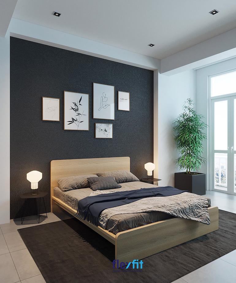 Giường ngủ gỗ công nghiệp tại các cơ sở uy tín sẽ giúp bạn đảm bảo an toàn cho sức khỏe và chất lượng