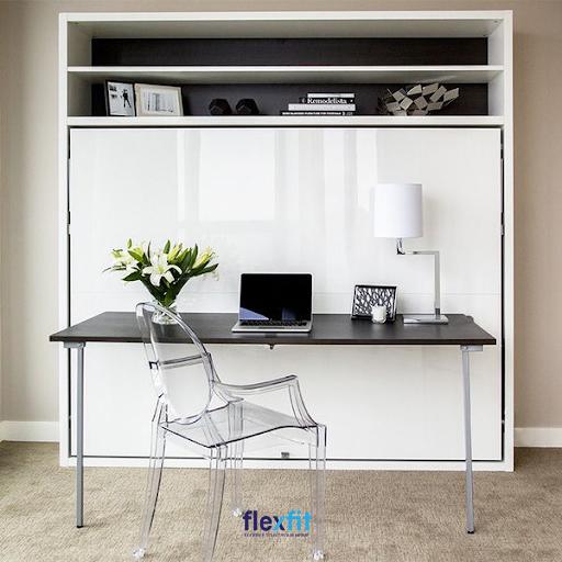 Bàn Murphy được thiết kế gấp gọn được dành cho những căn phòng có không gian hẹp. giúp tiết kiệm không gian và phòng làm việc của bạn trở nên gọn gàng, sạch sẽ hơn.