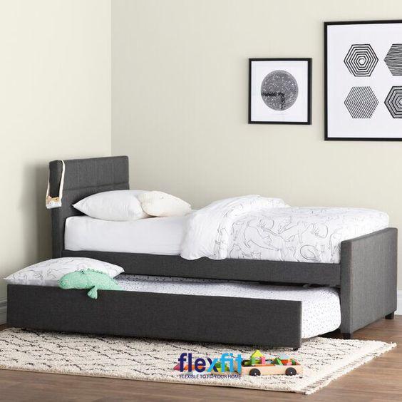 Với khung gỗ chắc chắn, lớp ngoài được bọc bằng vải cao cấp mang lại vẻ đẹp ấn tượng cho sản phẩm.