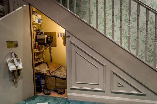 Căn phòng kín đáo hơn với cánh cửa