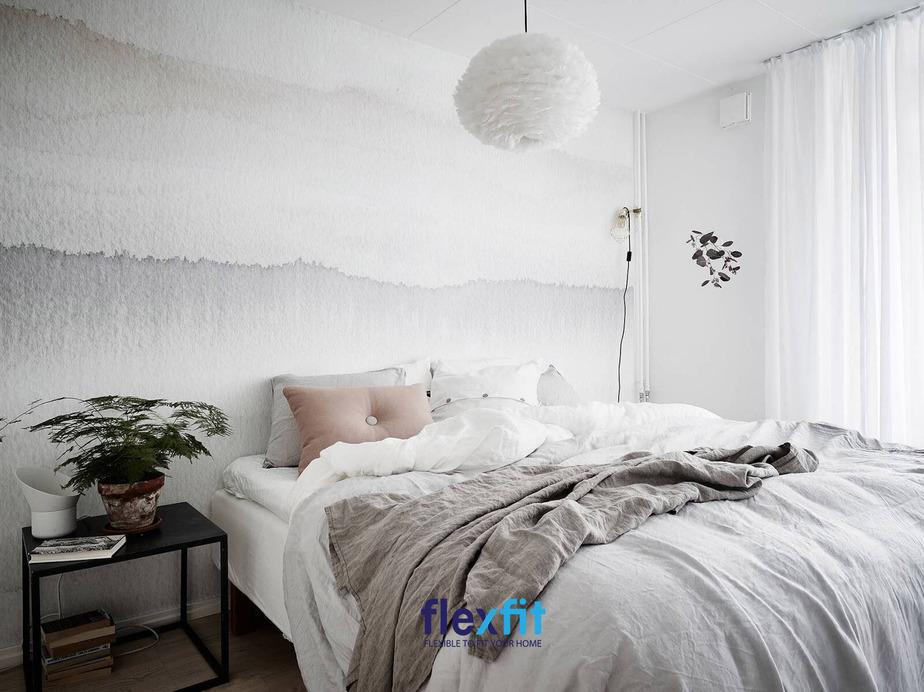 Biến tấu phòng ngủ master với phong cách Bắc Âu nhìn vào là mê mẩn bởi độ tinh tế