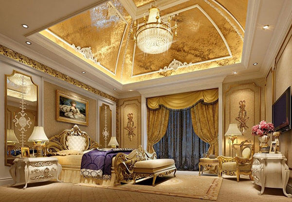 Mái vòm, đèn chùm là những đặc điểm đặc trưng tạo nên không gian sang trọng cho phong cách cổ điển