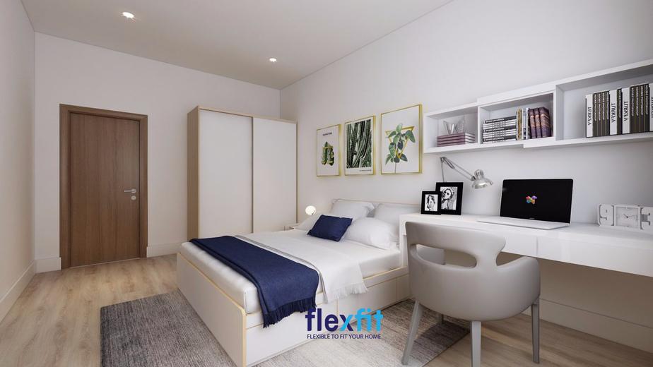Với phong cách tối giản, các đồ nội thất trang trí cũng trở nên đơn giản nhưng đầy tinh tế. Chỉ cần khéo léo trong cách bày trí là bạn đã có một căn phòng gọn gàng, ngăn nắp mà vẫn đảm bảo tính thẩm mỹ cao.