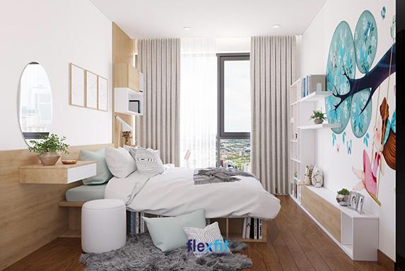 Thiết kế phòng ngủ thông minh hướng đến sử dụng các nội thất đa năng tăng tiện ích, tiết kiệm không gian