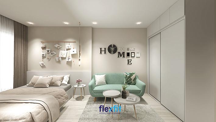 Hình dán 3D, đèn treo tường sáng tạo mang lại vẻ đẹp mộng mơ cho căn phòng