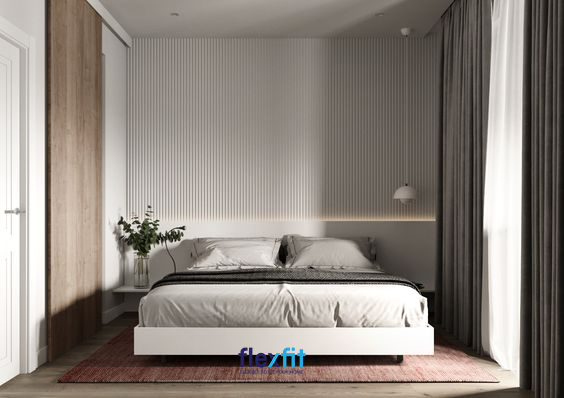 Chỉ với một chút biến hóa trong thiết kế tường cũng giúp căn phòng của bạn trở nên tinh tế, sang trọng và thời thượng hơn