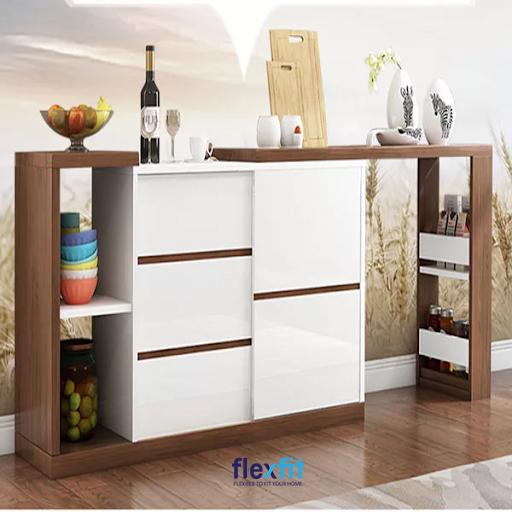 Sử dụng những mẫu tủ bếp đứng đa năng sẽ giúp cuộc sống của bạn trở nên tiện lợi hơn.