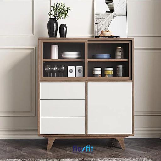 Không chỉ giúp tiết kiệm không gian, mẫu tủ bếp còn mang lại không gian hiện đại, tiện nghi cho gia đình bạn.