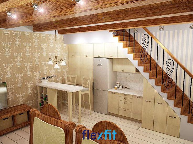 Không gian bếp nhỏ nhưng vẫn đảm bảo đầy đủ tiện nghi