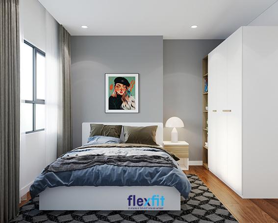 Với thiết kế áp tường, tạo sự thoáng đãng và vô cùng hiện đại, theo xu hướng hàng đầu trong những mẫu thiết kế nội thất gần đây