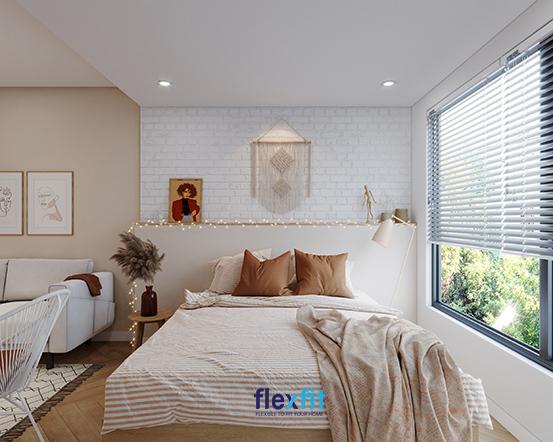 Muốn căn phòng ngủ của mình mang phong cách Châu Âu mà không muốn tỏ ra quá nhiều chi phí, thì đây là sự lựa chọn của bạn