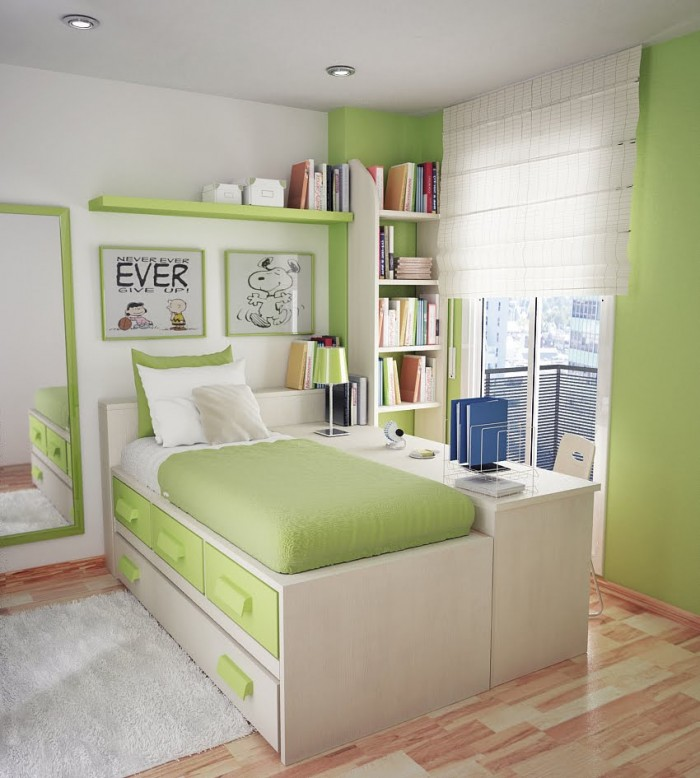 Nên trang trí phòng theo màu sắc bé yêu thích