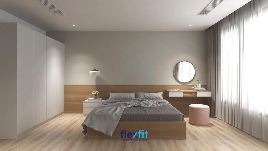 """Cách đơn giản nhất để decor cho căn phòng trở nên đơn giản mà tránh được sự đơn điệu đó chính là chọn lựa những nội thất """"tông xoẹt tông"""". Điều này không chỉ giúp nâng cao tính thẩm mỹ cho căn phòng mà giúp bạn tiết kiệm thời gian khi thiết kế phòng."""