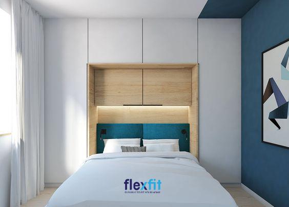 Những mẫu nội thất âm tường sẽ giúp bạn tiết kiệm tối đa diện tích căn phòng.
