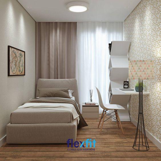 Chỉ cần tối giản cũng như khéo léo sắp xếp bày trí nội thất căn phòng là bạn đã sở hữu một căn phòng ngủ ưng ý, tuyệt vời.