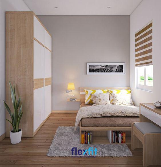 Bạn có thể tham khảo mẫu giường có hộc chứa thông minh cho căn phòng của mình