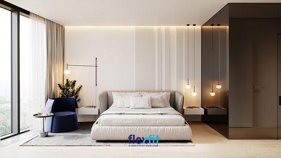Phòng ngủ có view hướng ra ngoài chắc chắn là sự lựa chọn tuyệt vời giúp bạn có thể ngắm trọn vẻ đẹp của thiên nhiên mang lại sự thư thái và cảm giác thoải mái nhất