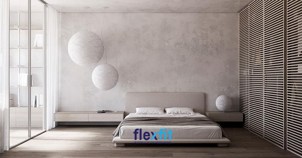 Một thiết kế phòng ngủ gỗ công nghiệp đơn giản nhưng ấn tượng ngay từ cái nhìn đầu tiên