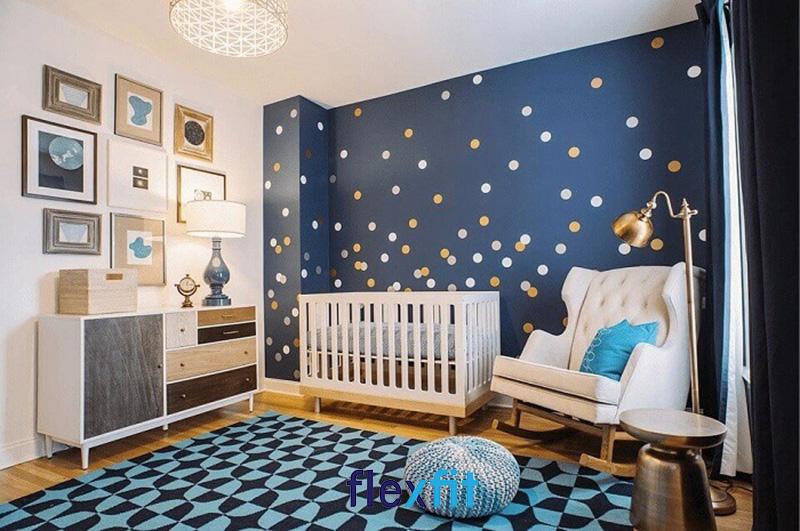 Mẫu thiết kế phòng ngủ đầy ấn tượng cho bé tra sơ sinh