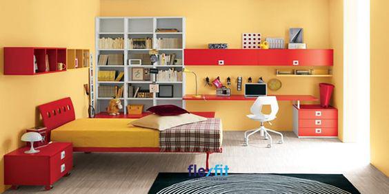 Nội thất được sử dụng cũng tạo nên sự thống nhất, đồng điệu với căn phòng.