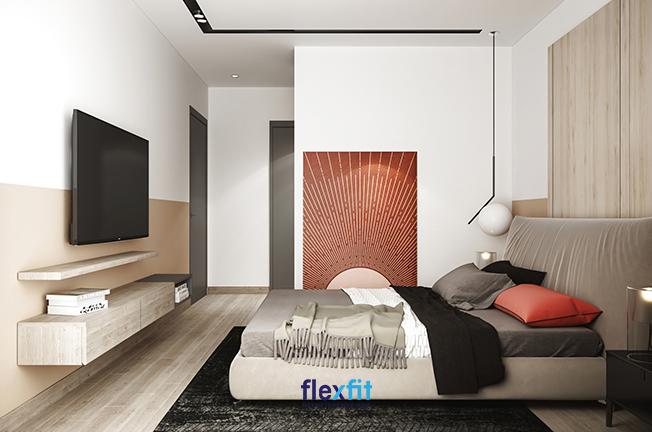 Phòng ngủ hợp mệnh Hỏa được sắp xếp dựa trên những nguyên tắc cơ bản.