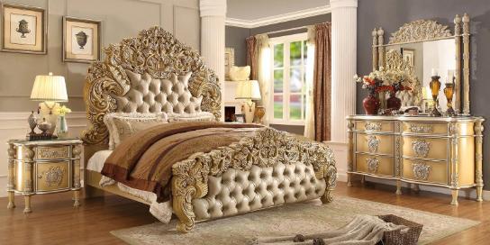 Các món đồ nội thất được gia công tỉ mỉ, đường nét cân xứng làm nên vẻ đẹp hoàn hảo và sức quyến rũ không thể chối từ