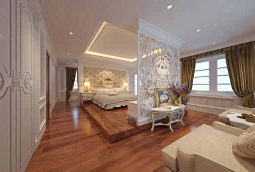 Tất cả các đồ nội thất được phân bố một cách hợp lý và kết hợp hài hòa với nhau tạo nên một không gian nội thất hòa quyện, khó tách rời và đẹp ngất ngây