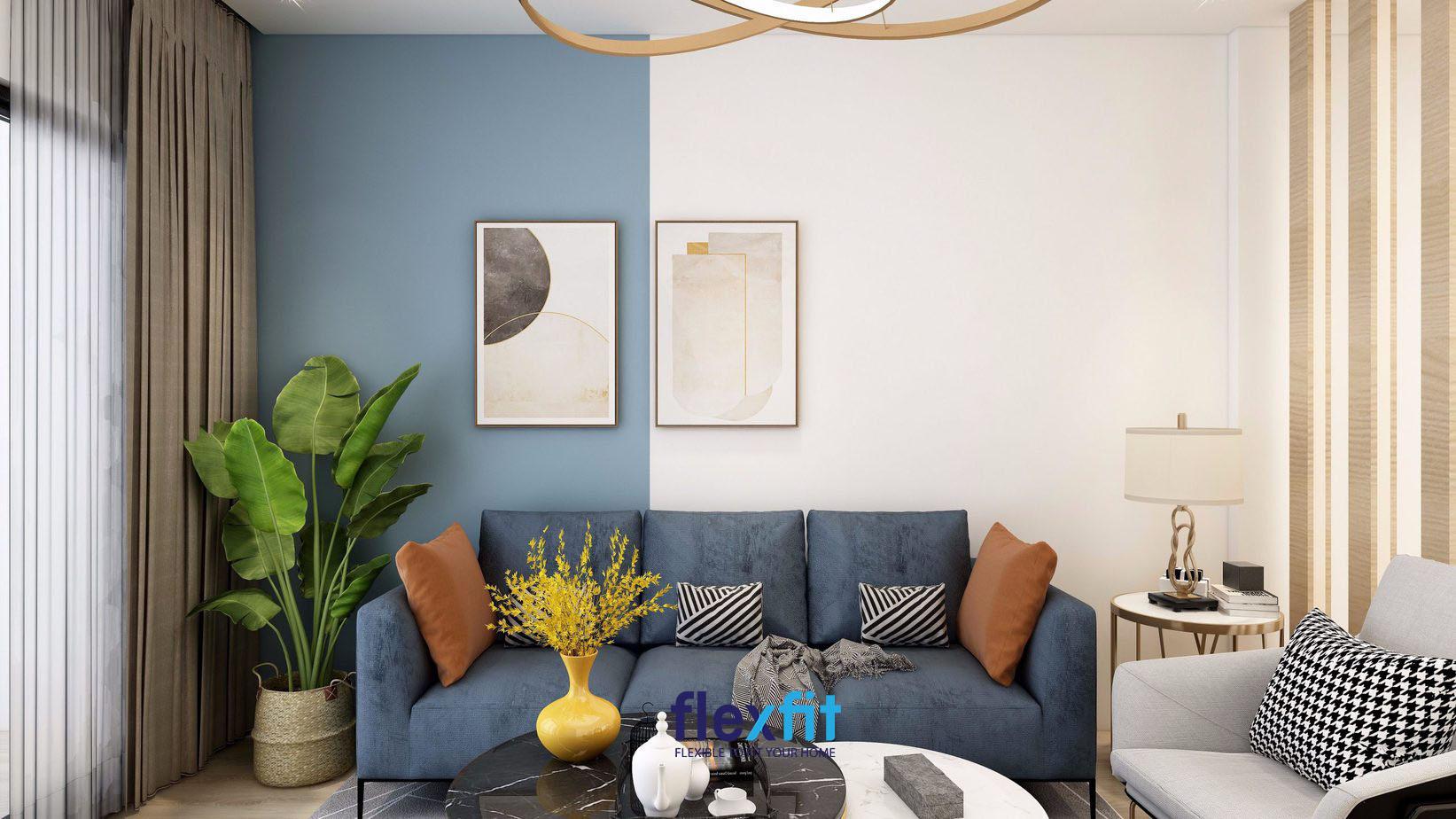 Gia chủ mệnh Hỏa nên đặt cây xanh trong phòng khách.